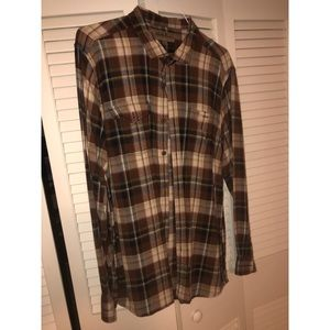 NORTH RIVERS FLANNEL BUTTON DOWN